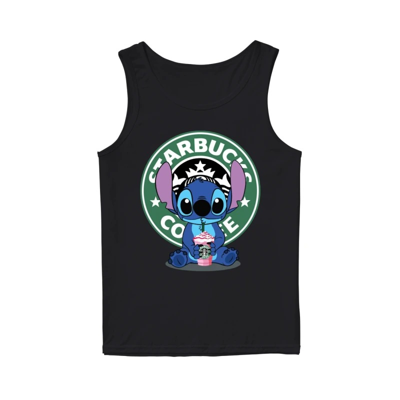 Baby Stitch Starbucks Coffee Tank Top