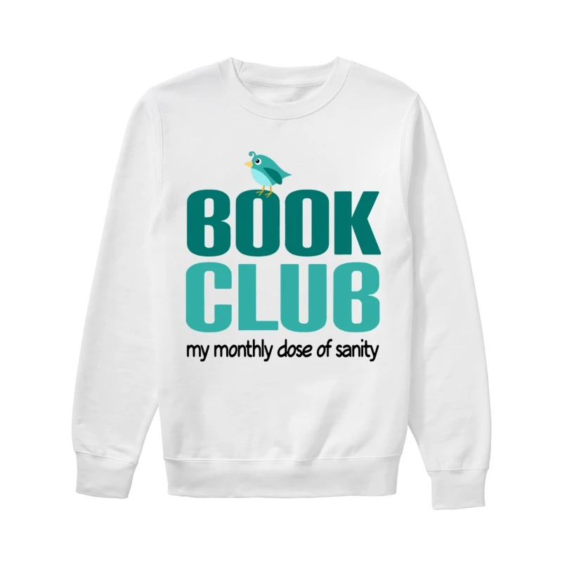 Book Club My Monthly Close Of Sanity Sweater