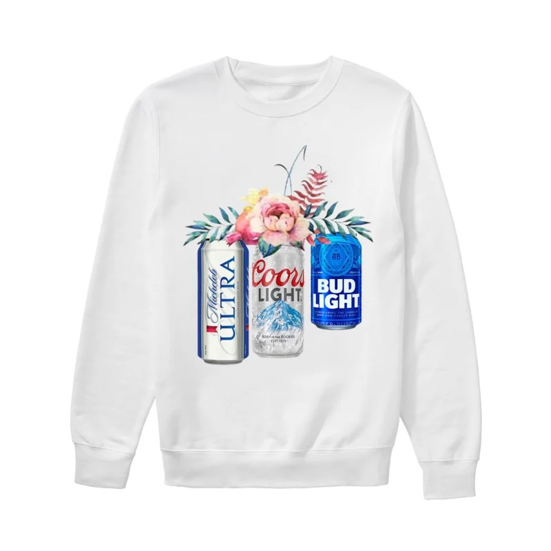 Coors Light Bud Light Michelob Ultra Beer Sweater