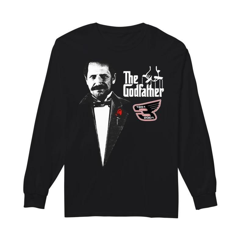 Dale Earnhardt The Godfather 1951 2001 Longsleee Tee