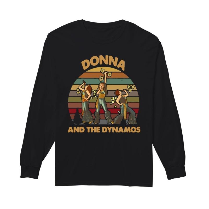 Donna And The Dynamos Vintage Kid Longsleeve Tee