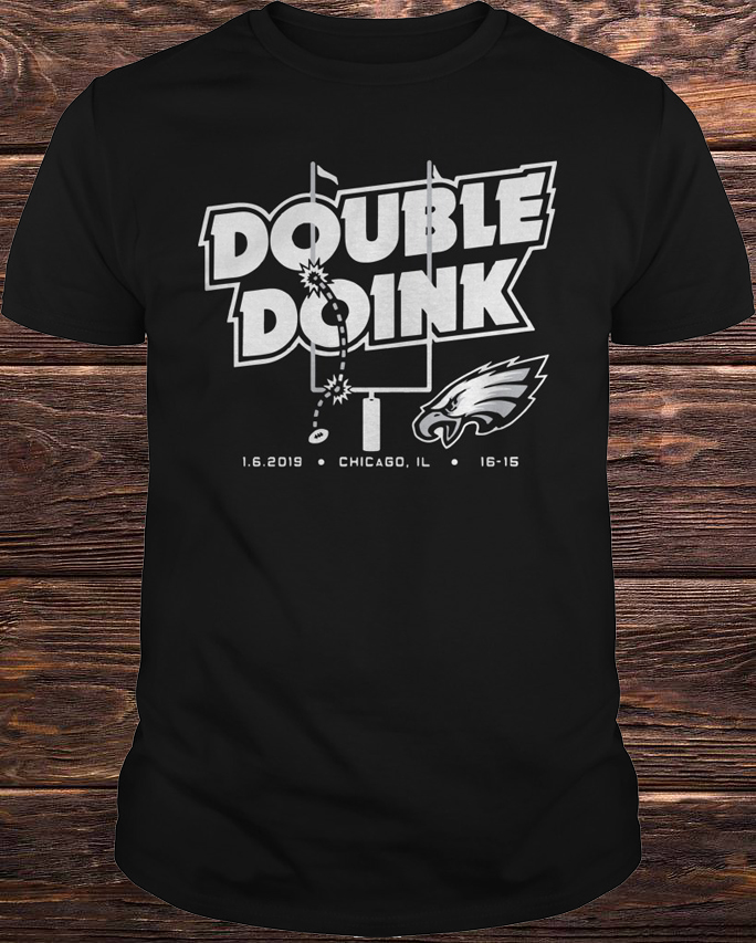 Double doink Philadelphia Eagles shirt