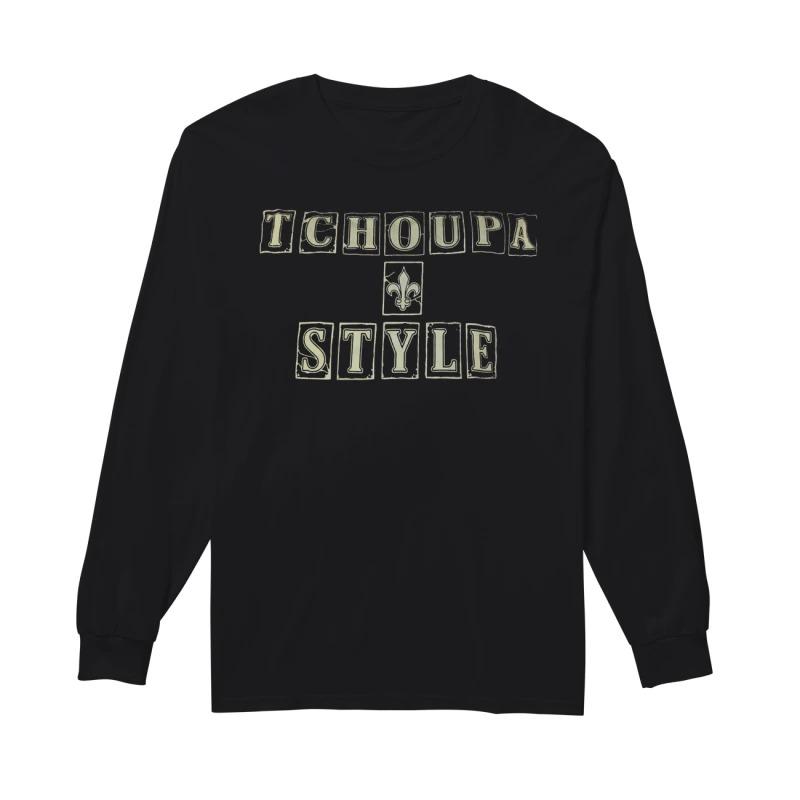 New Orleans Saints Tchoupa Style Longsleeve Tee