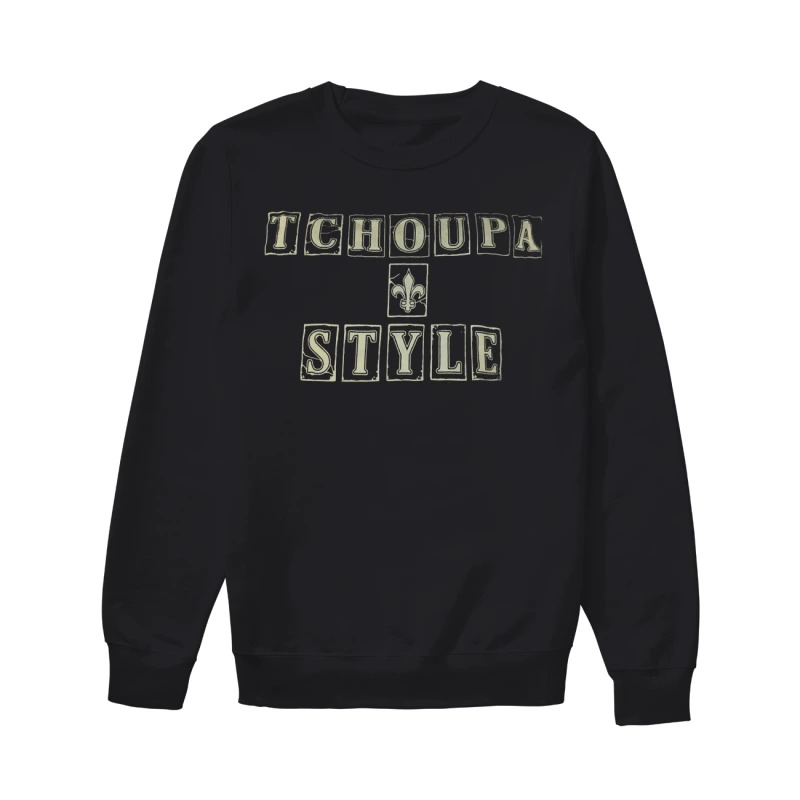 New Orleans Saints Tchoupa Style Sweater