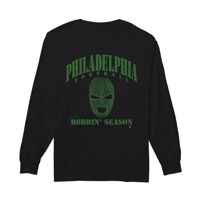 Philadelphia Eagles Ski Mask Longsleeve Tee