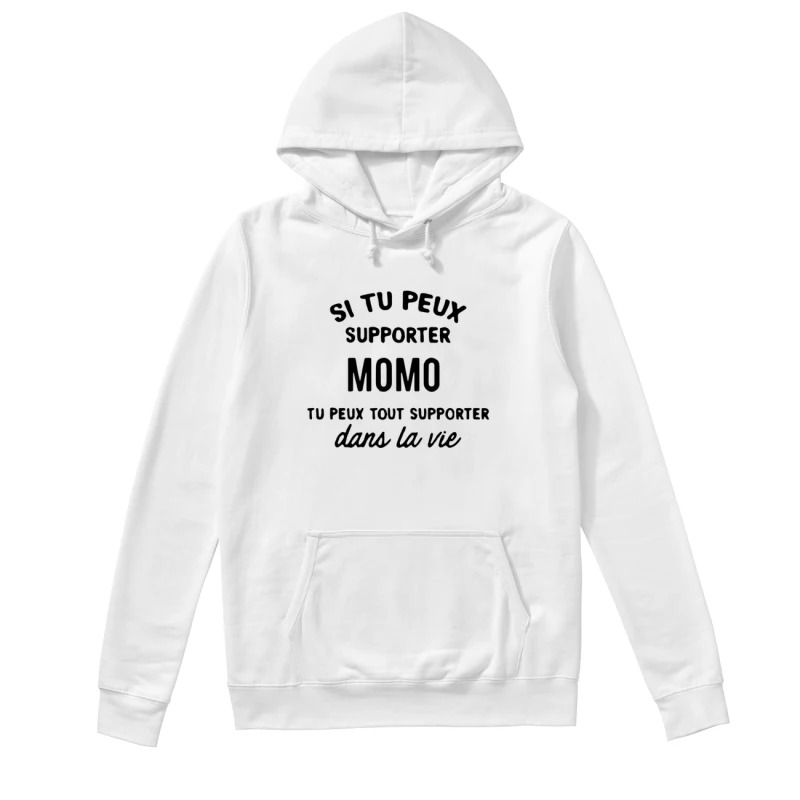 Si Tu Peux Supporter Momo Tu Peux Supporter Dan Le Vie Hoodie