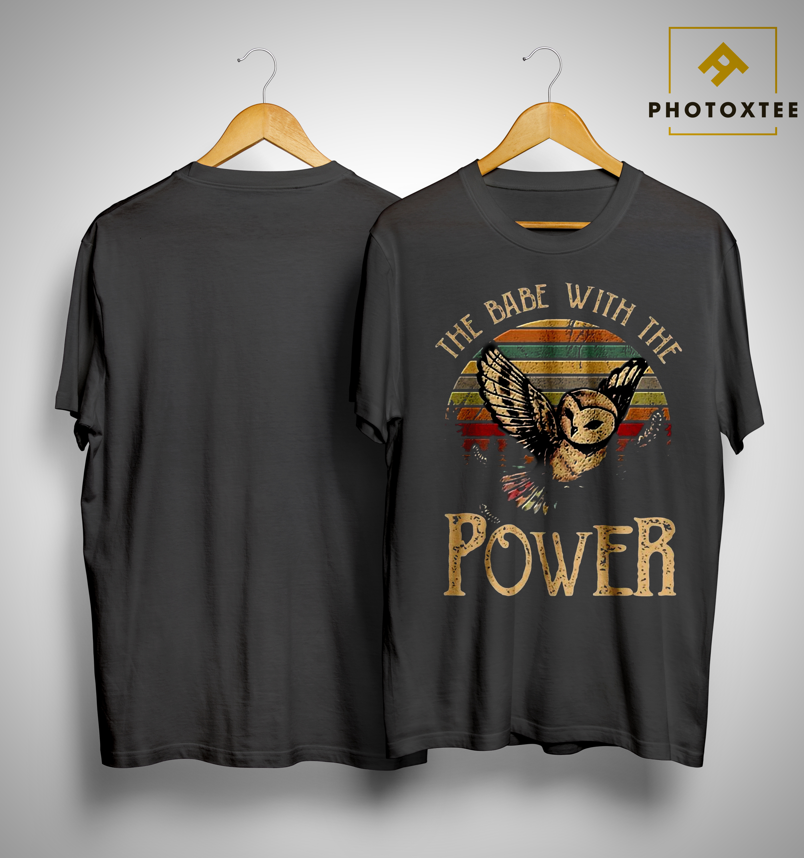 Sunset Special Owl The Babe With The Power Shirt