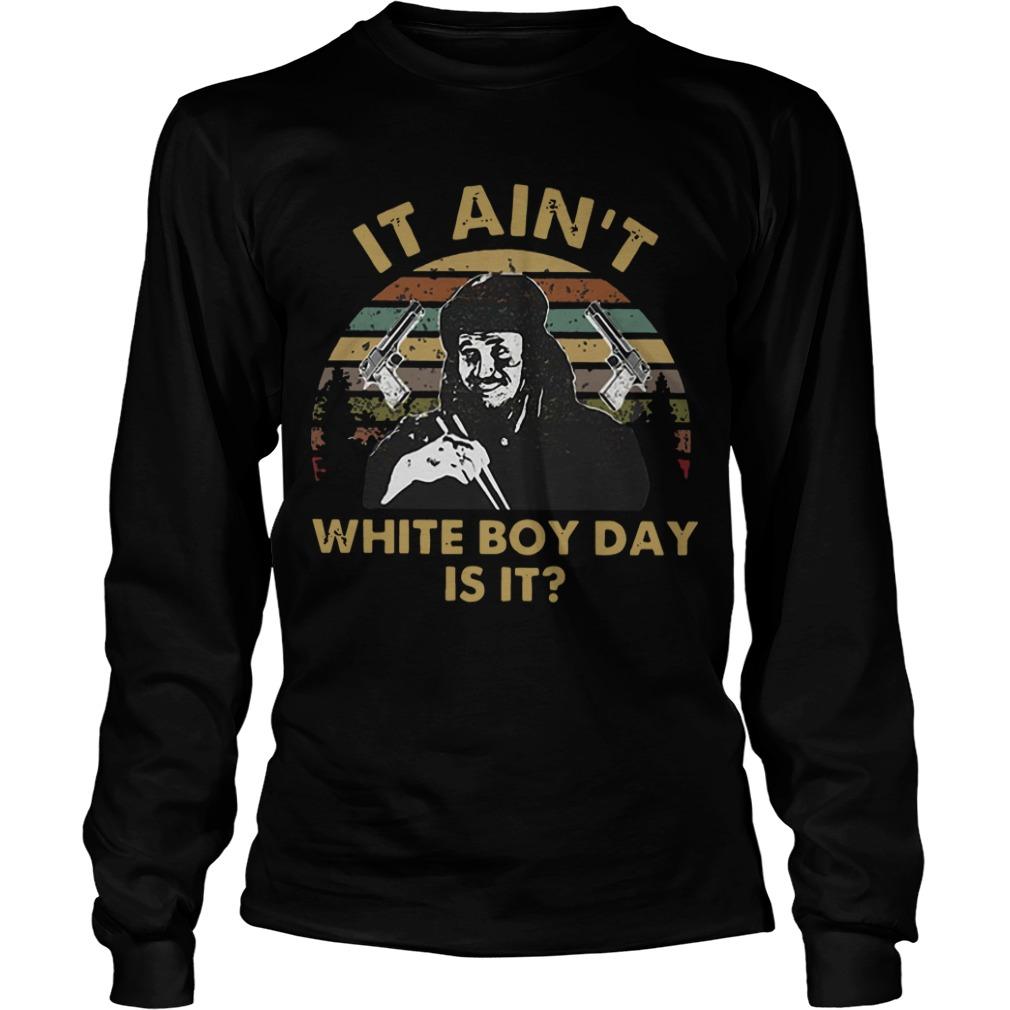 Sunset Gary Oldman It Ain't White Boy Day Is It Longsleeve Tee