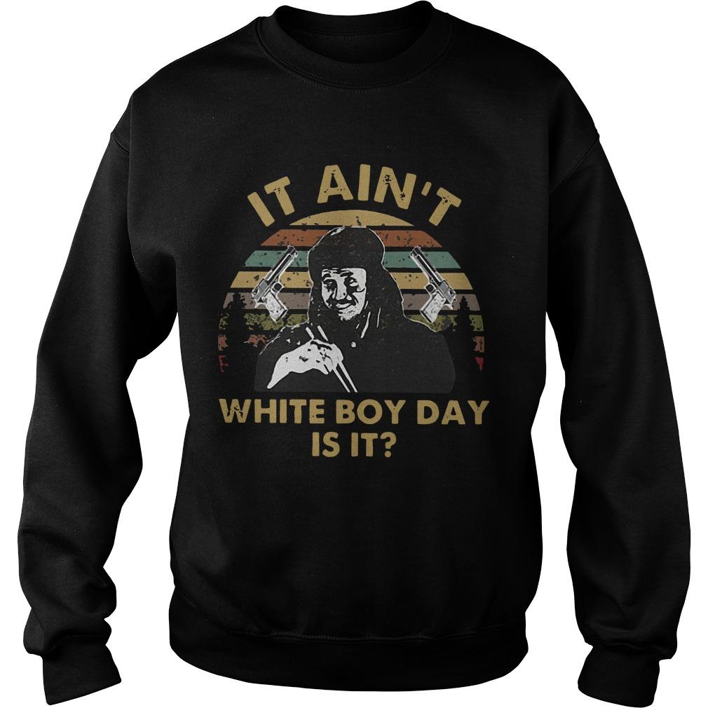 Sunset Gary Oldman It Ain't White Boy Day Is It Sweater