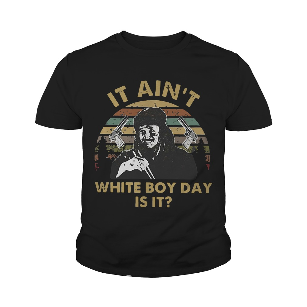 Sunset Gary Oldman It Ain't White Boy Day Is It Youth Tee