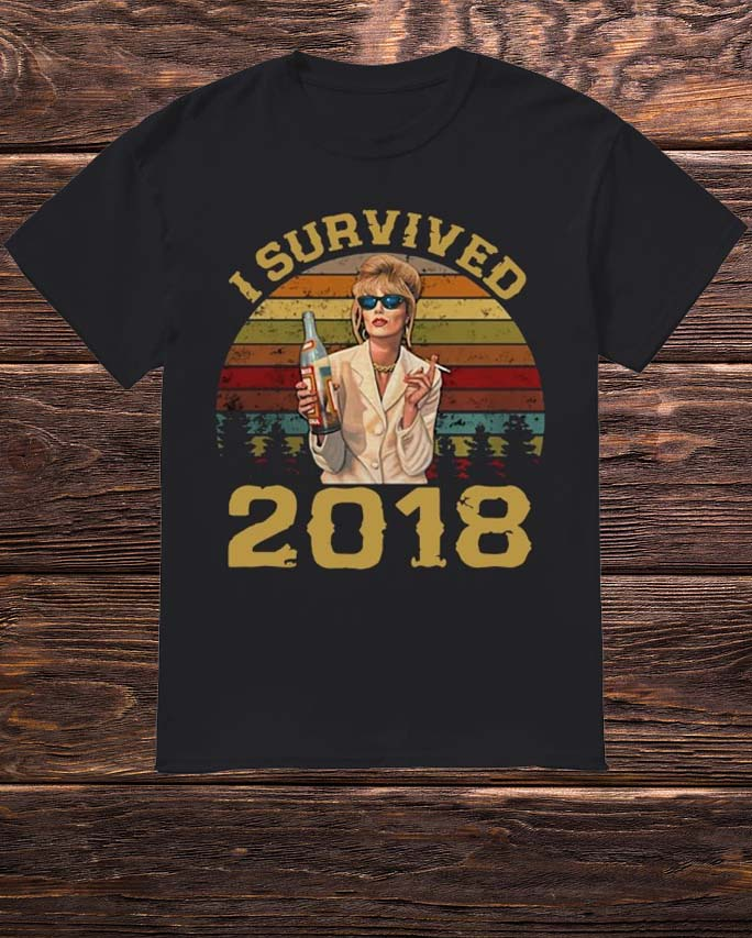 Sunset Patsy Stone I Survived 2018 Shirt