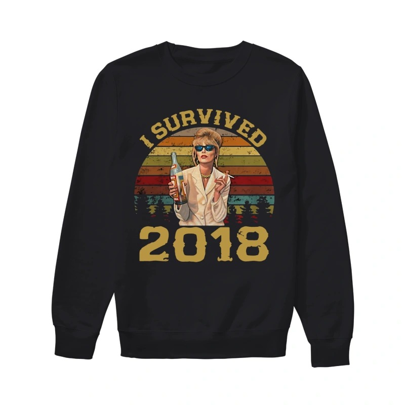 Sunset Patsy Stone I Survived 2018 Sweater