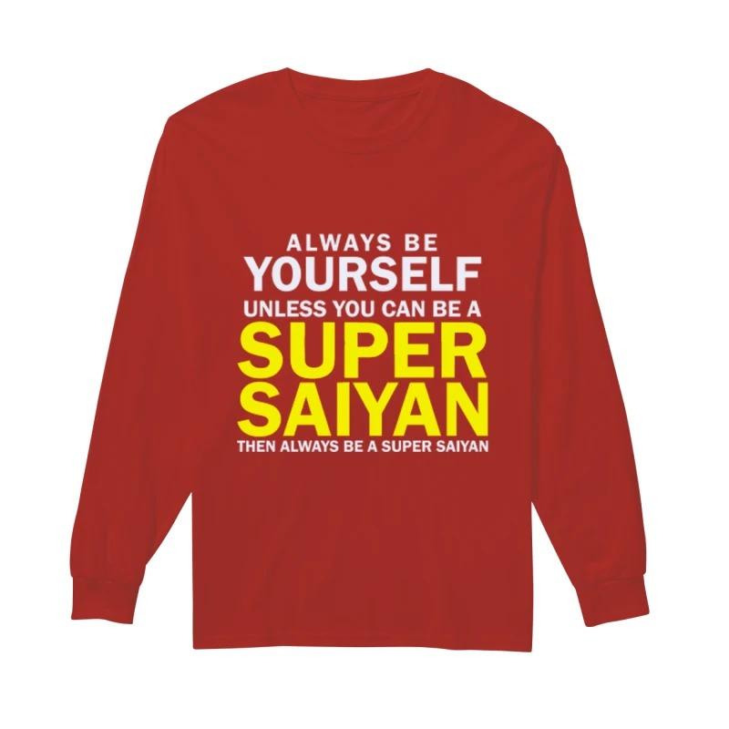 Super Sayian Longsleeve Tee
