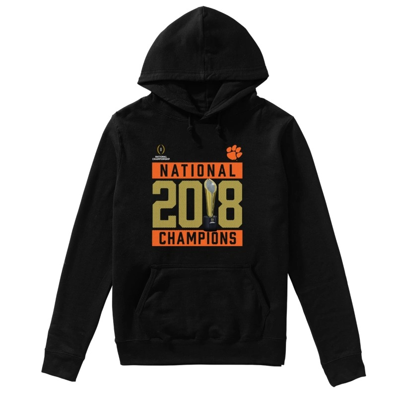 Clemson Tigers National 2018 Champions Pitch Hoodie
