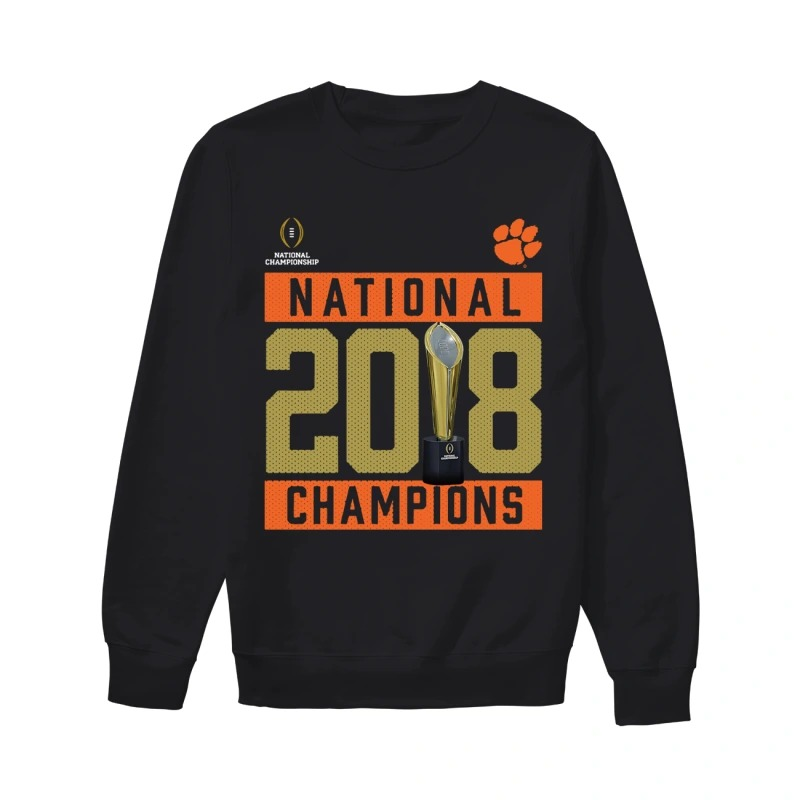 Clemson Tigers National 2018 Champions Pitch Sweater