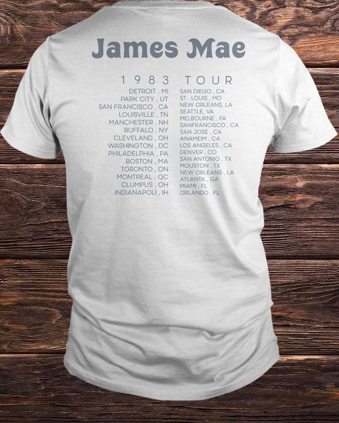 James Mae Tour T Shirt Kristen Doute