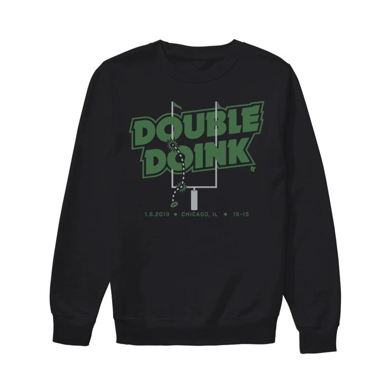 Nick Foles Eagles Double Doink Sweater