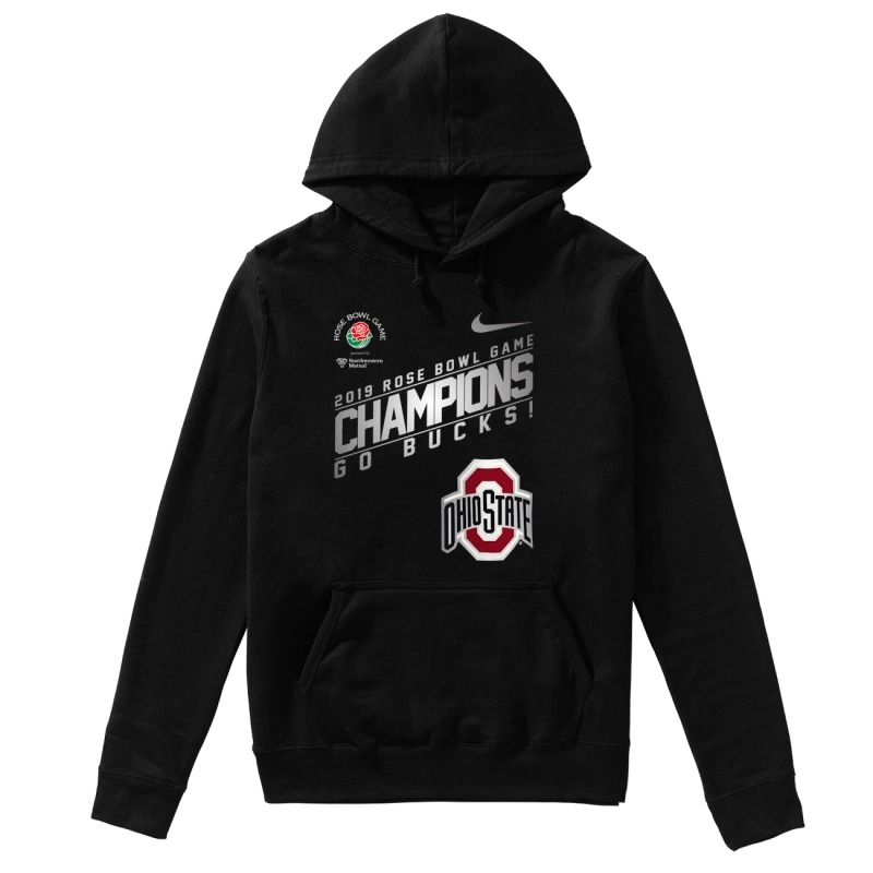 Nike Ohio State 2019 Rose Bowl Champions Hoodie