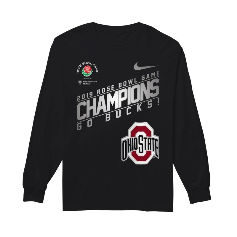 Nike Ohio State 2019 Rose Bowl Champions Longsleeve Tee