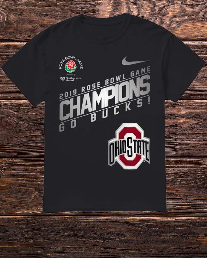 Nike Ohio State 2019 Rose Bowl Champions Shirt
