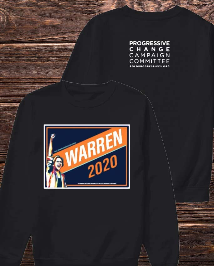 Warren 2020 Progressive Change Campaign Committee Sweater