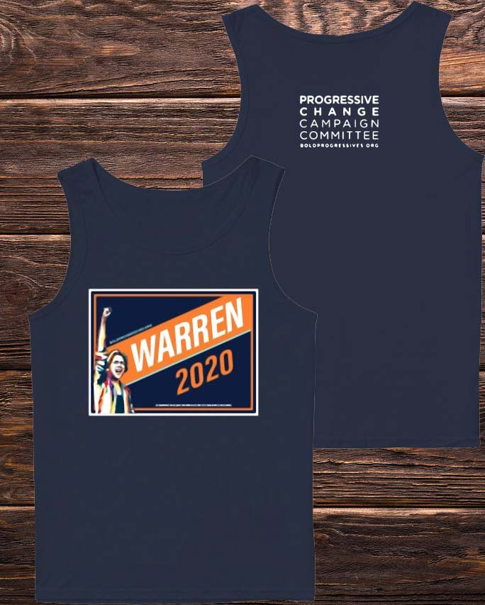 Warren 2020 Progressive Change Campaign Committee Tank Top