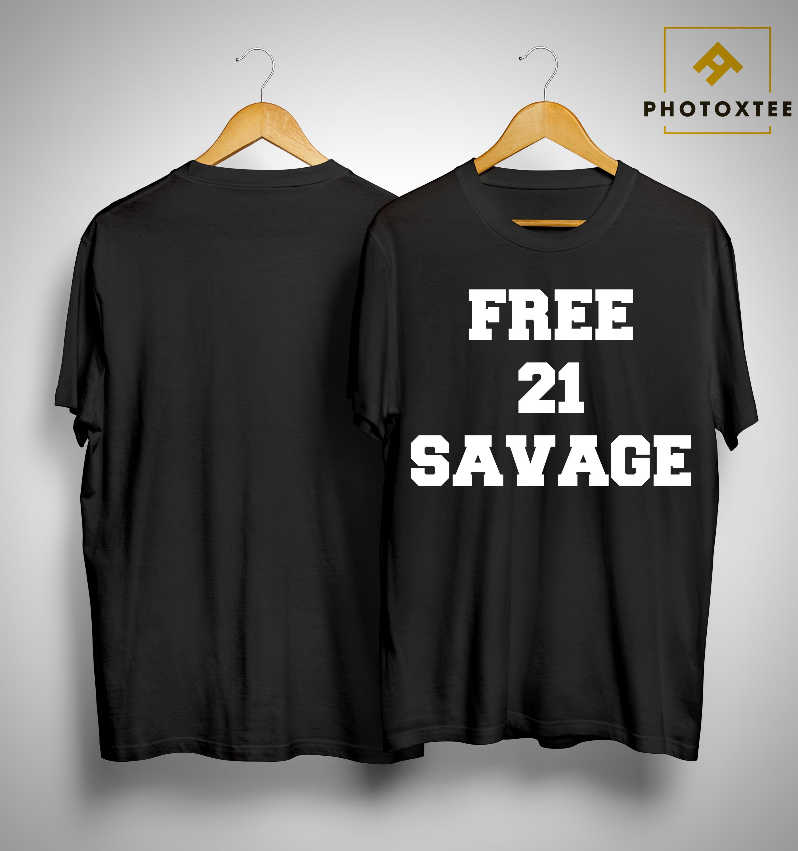 Gervonta Davis Free 21 Savage Shirt