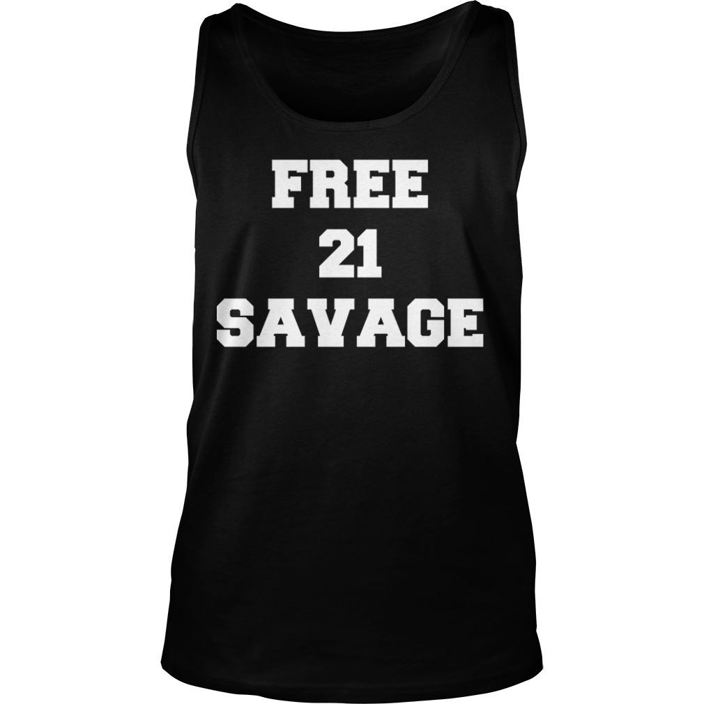 Gervonta Davis Free 21 Savage Tank Top