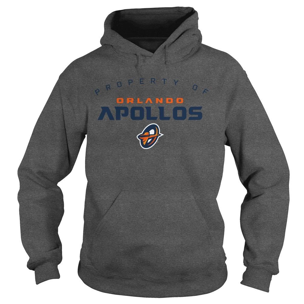 Property Of Orlando Apollos Hoodie