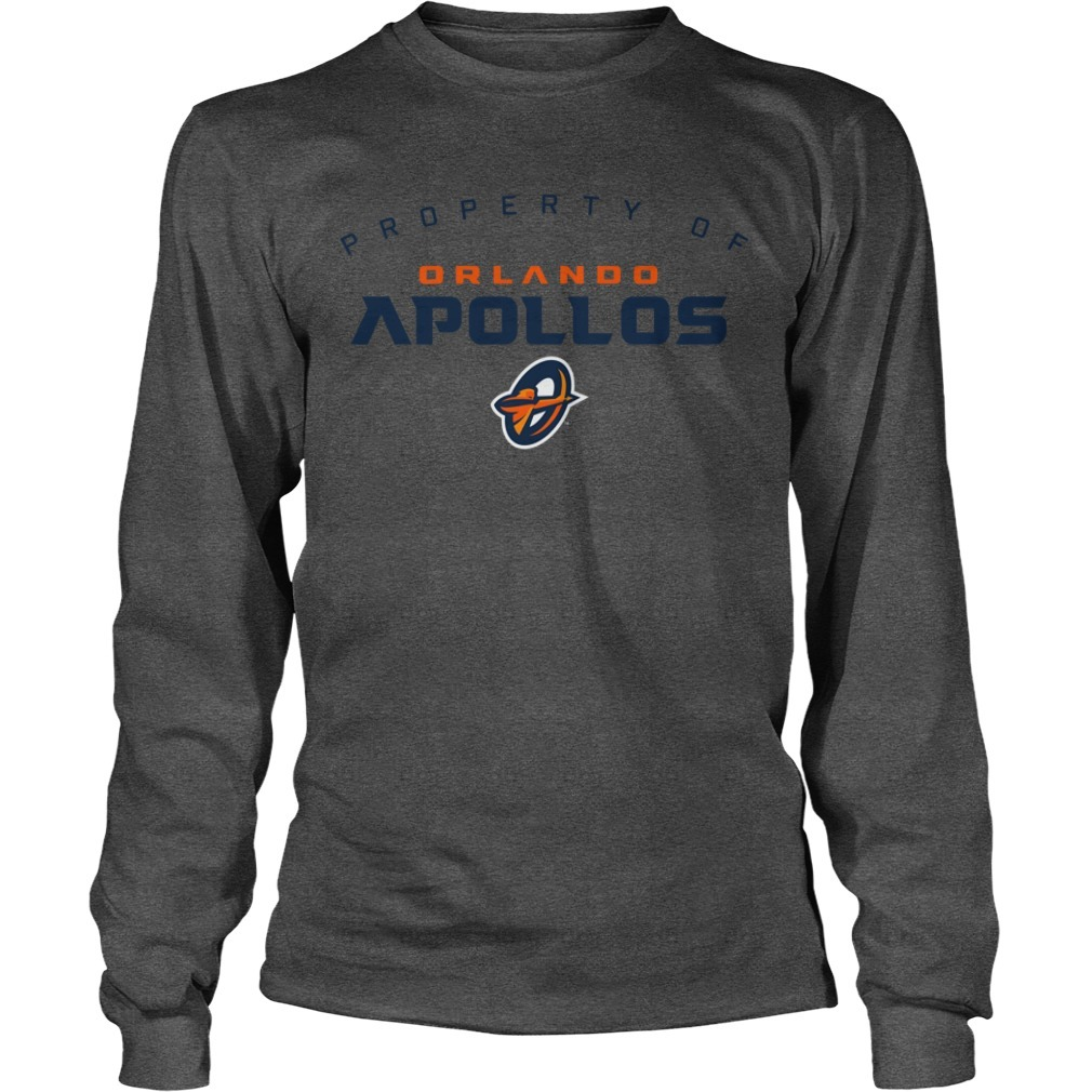 Property Of Orlando Apollos Longsleeve Tee