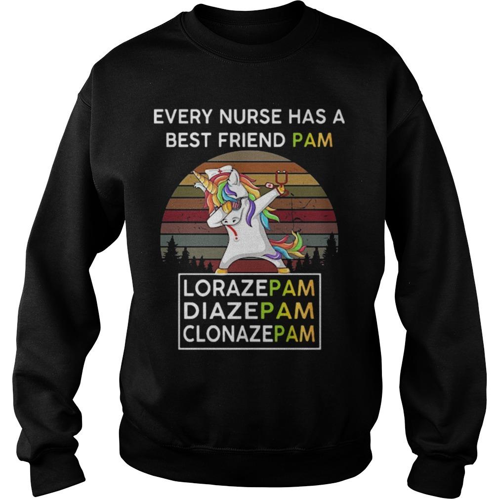 Vintage Unicorn Every Nurse H