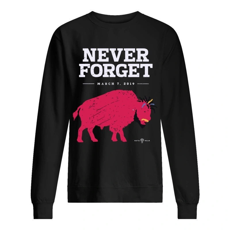 Ab Buffalo Never Forget March 7 2019 Sweater
