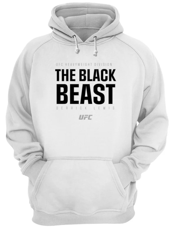 Ufc Heavyweight Division The Black Beast Derrick Lewis Hoodie