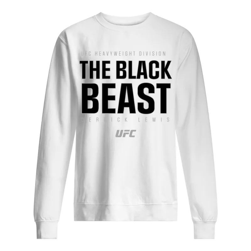 Ufc Heavyweight Division The Black Beast Derrick Lewis Sweater