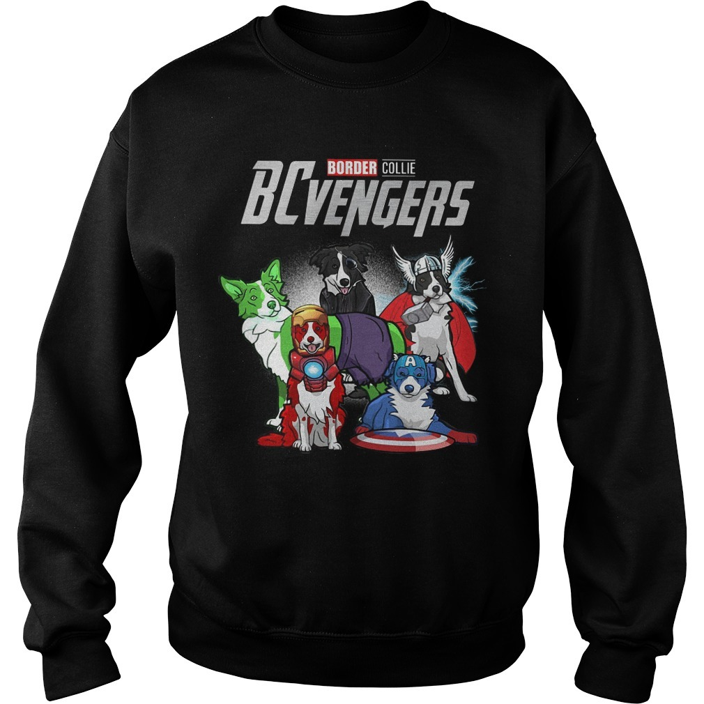 Border Collie BCvengers Sweater