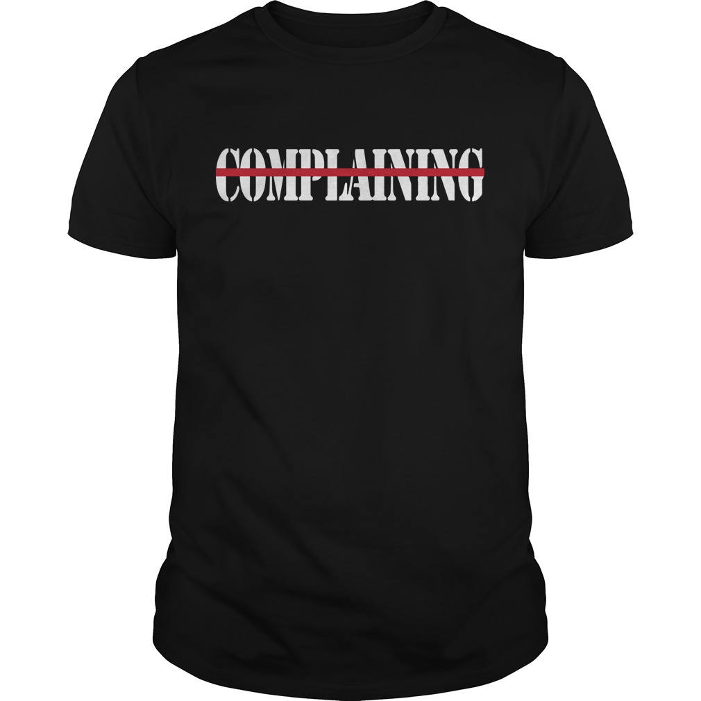 Jon Gordon Don't Complaining Shirt
