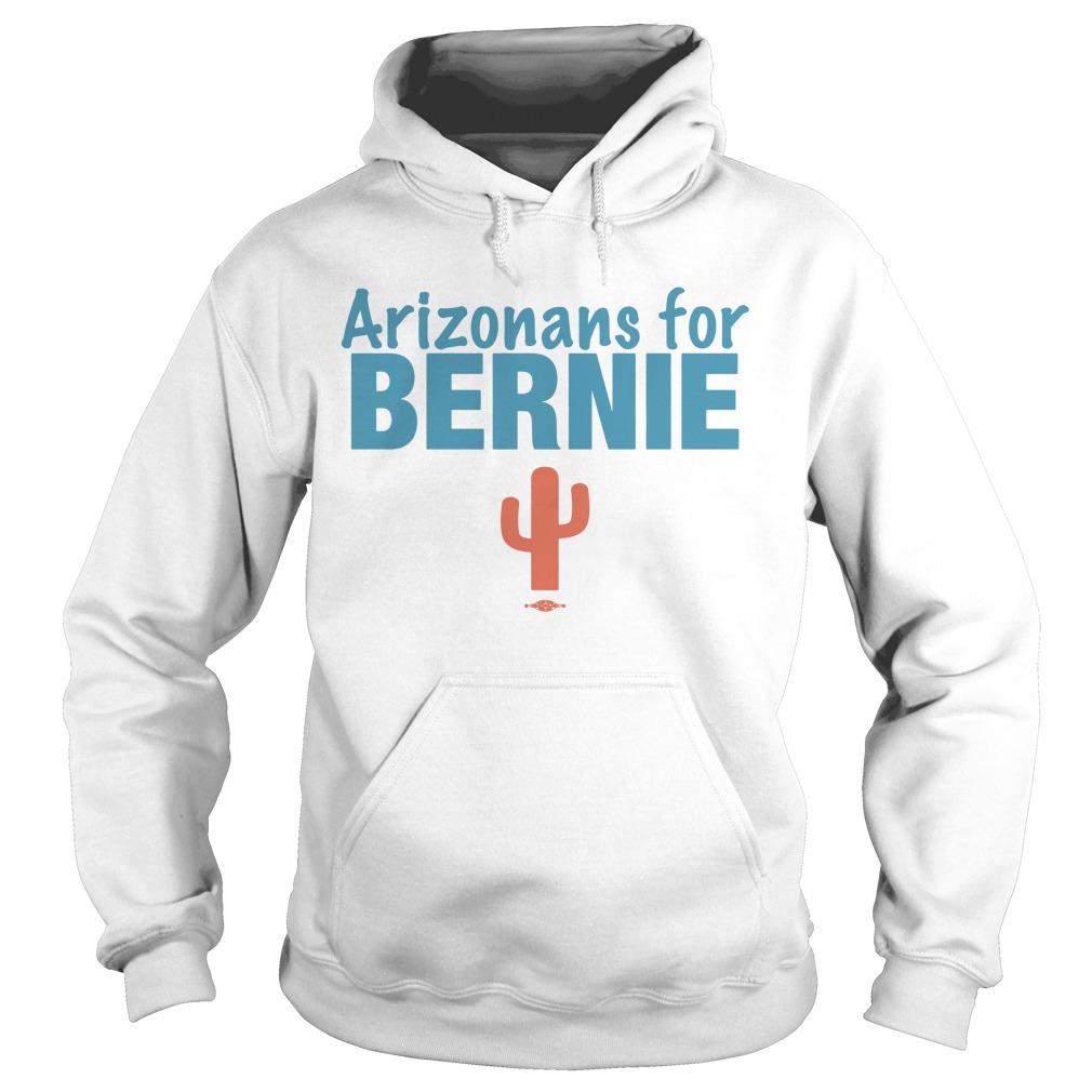 Arizonans For Bernie Hoodie