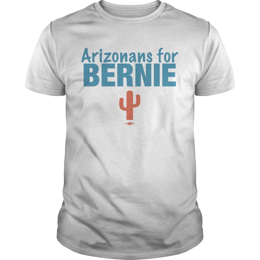 Arizonans For Bernie Shirt