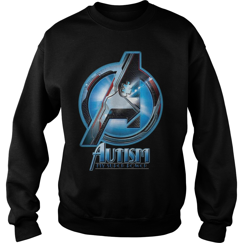 Avengers Autism My Super Power Sweater