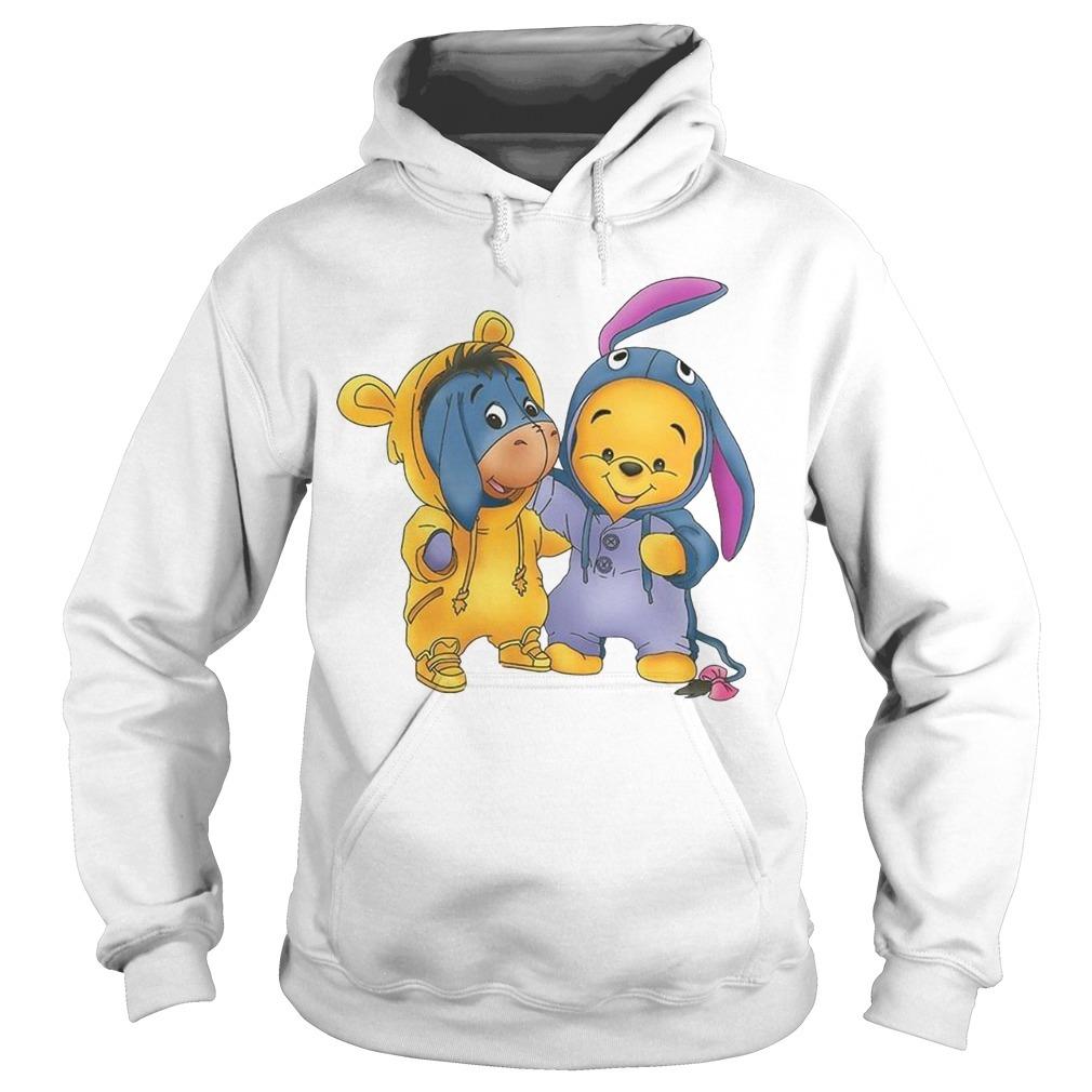 Baby Pooh And Eeyore Hoodie