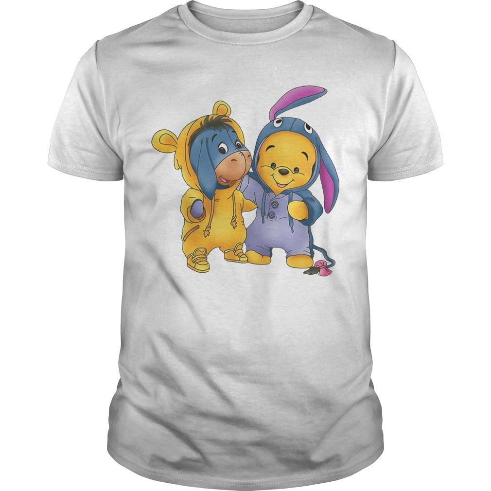 Baby Pooh And Eeyore Shirt