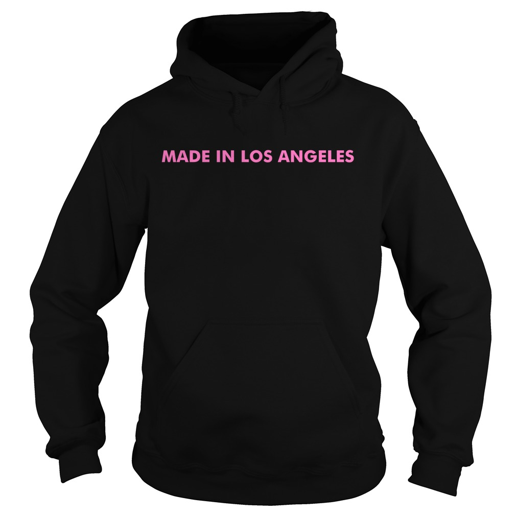 Knj Made In Los Angeles You Already Know Whats Up Hoodie