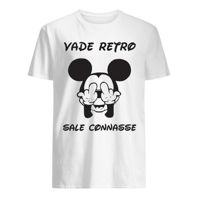 Mickey Vade Retro Sale Connasse Shirt