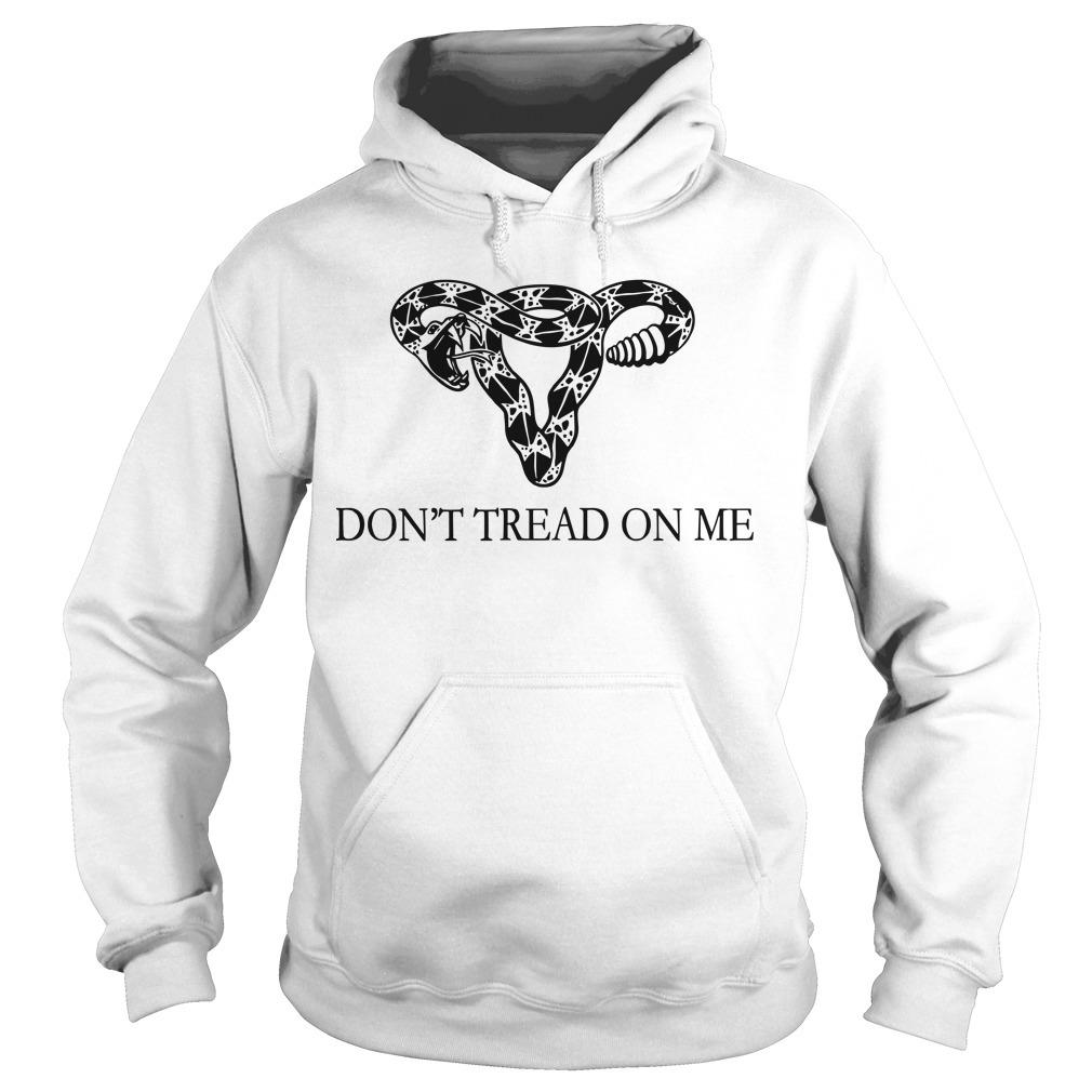 Rattlesnake Uterus Don't Tread On Me Hoodie