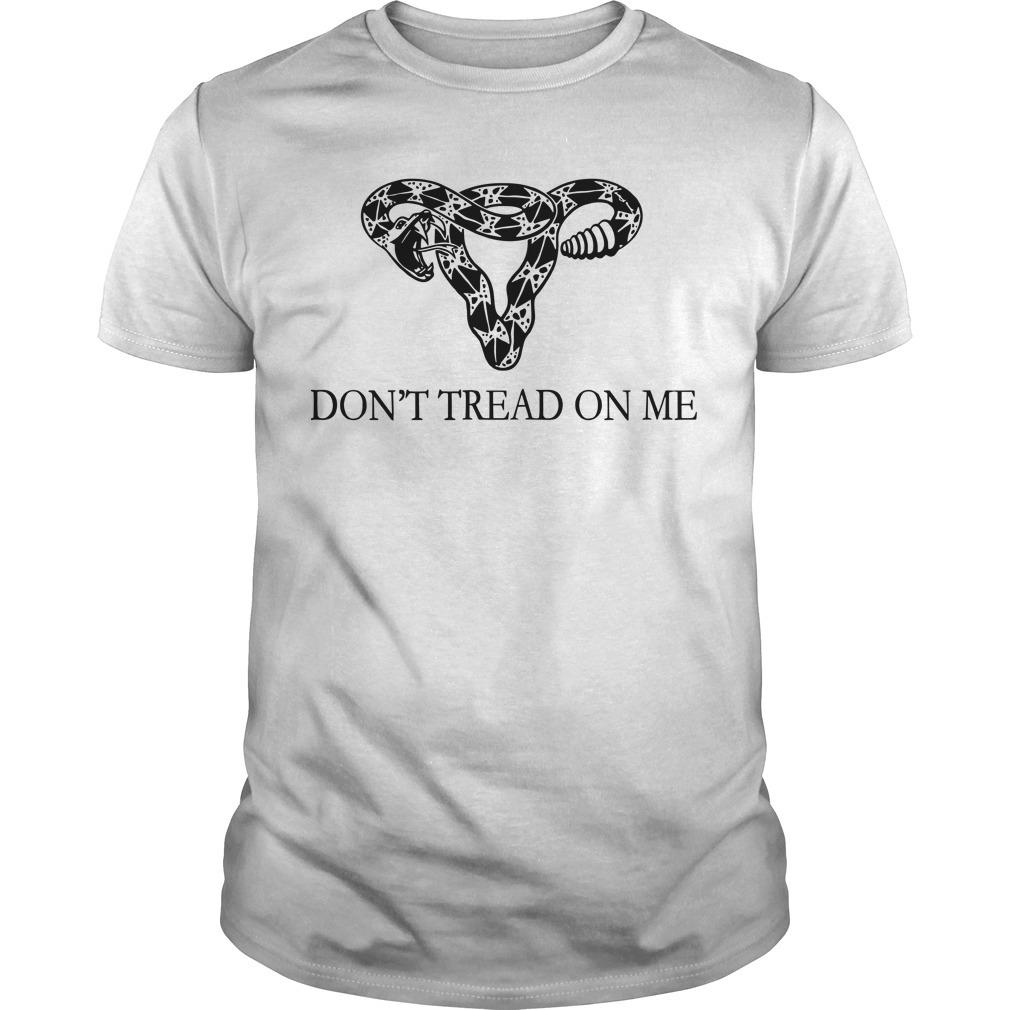Rattlesnake Uterus Don't Tread On Me Shirt