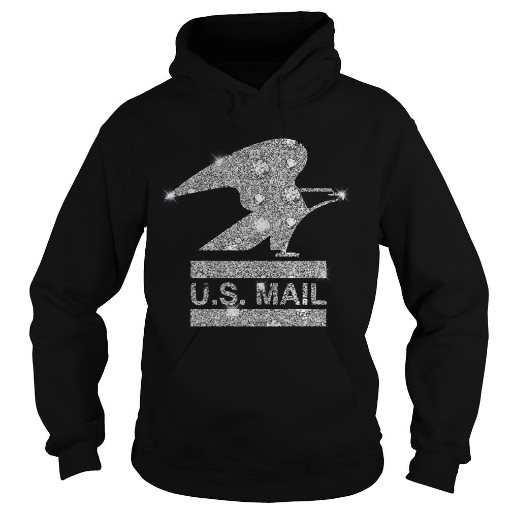 Sprinkle Eagle Us Mail Hoodie