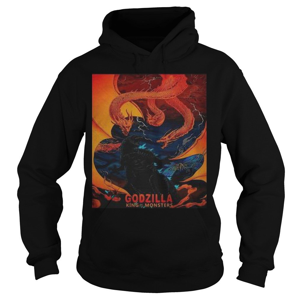 Godzilla King Of The Monster Hoodie