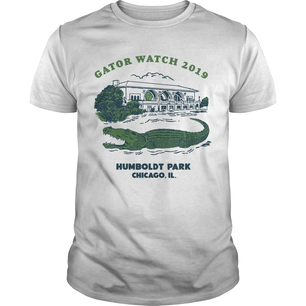 Block Club Chicago Humboldt Park Chicago Il Gator Watch 2019 T Shirt