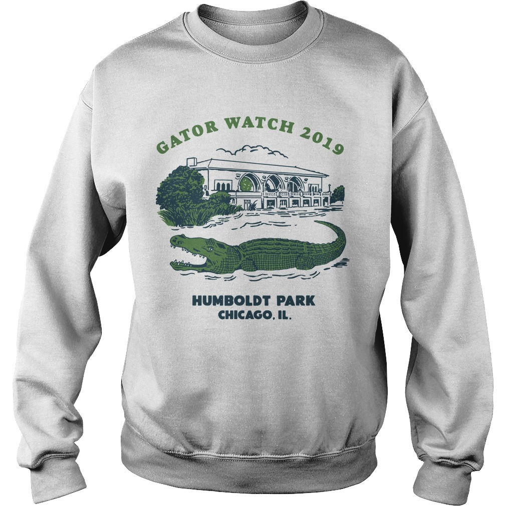 Block Club Chicago Humboldt Park Chicago Il Gator Watch 2019 Sweater