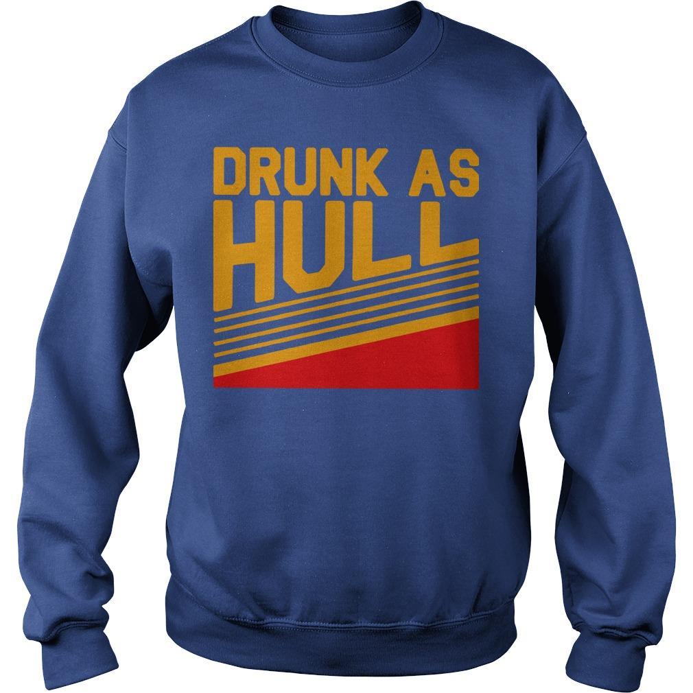 Brett Drunk As Hull T Sweater